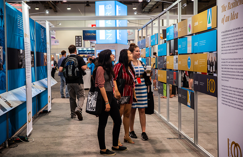 NCARB Centennial Exhibit is unveiled