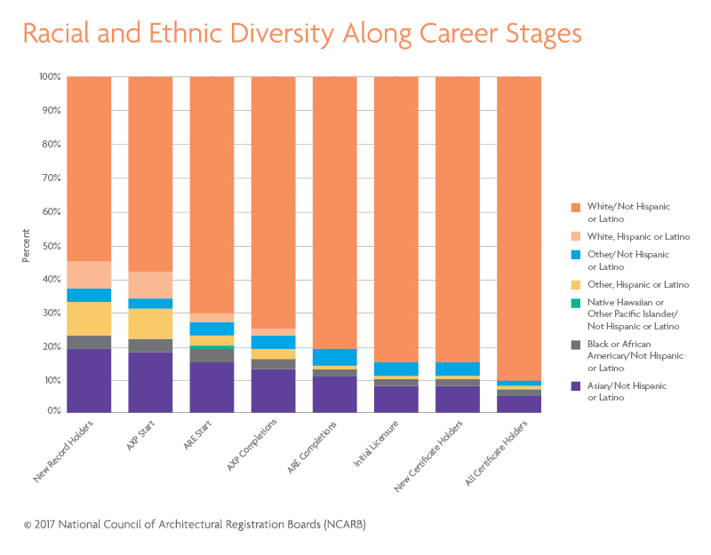 Architecture Racial and Ethnic Diversity